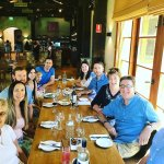 Family lunch at Robert Oatley!