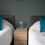 Twin room with en-suite and sea views