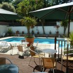 Outdoor heated swimming pool - available mid-May - early September