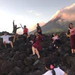 Lava Wall at Mt Mayon