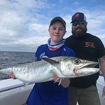 First Kingfish for this young angler!