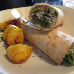 Falafel Wrap with Roasted Potatoes