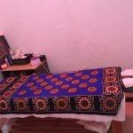 African designed Massage Bed