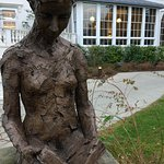 Bronze sculptures by Carol Peace