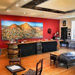 Our hand crafted bar at our new location in Jerome, AZ! 301 Main St.