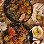 The sharing platter.