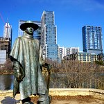 Statue of Stevie Ray Vaughan