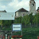 Durnstein village sign