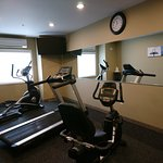 Newly constructed fitness center