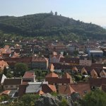 View of other castles and Mikulov town
