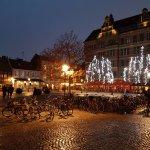 Christmas lights in Lilla Torg