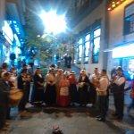 Grupo Canario en la Plaza del Charco