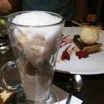 Pumpkin Latte and Chocolate tart desserts