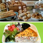 Fresh breads, pastries and quiches