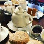 The cold dry scones
