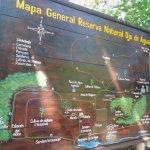 Mapa General Reserva Natural Ojo de Agua
