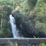 One of many waterfalls to see on the Road to Hana.