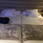 2 lits simples au lieu d'un lit double
