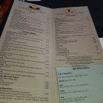 Los precios,en la gama de restaurantes de alta gama.