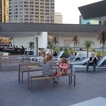 Roof top functions, eating and recreation area