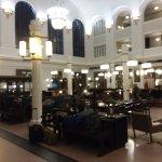 Rest area inside Union Station