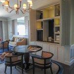corner suite, victory annexe - living area