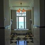 stunning bathroom, corner suite, victory annexe