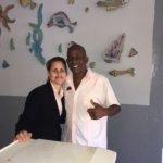great morning staff at Sirenis lobby bar