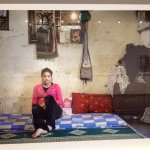 Photo from Rania Matar exhibit