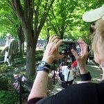 Photographing the Korean war Veterans Memorial