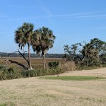 Beautiful marsh views at Laurel Island Links. This is the 3rd hole.