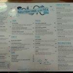 All new Gluten Free Menu
