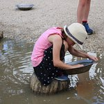Gold panning, Sovereign Hill