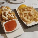 Papas Bravas, Fried Cuttlefish