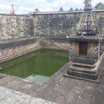Temple pond in Belur