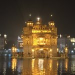 The Golden Temple, 15 minutes drive away at 03h30