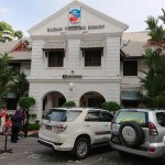 Directly across the road, the Sabah Tourist Board