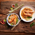 Pad Thai & Noodle River Prawn