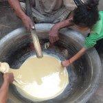 Making of Palm sugar
