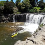 VISIT THE WATERFALLS, FEED THE CHOOKS AT PAIHIA