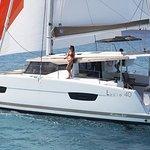 Our brand new catamaran Fountaine Pajot 40, model 2018