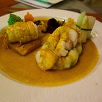 Grilled Fillet of Turbot with Lobster Medallion | Christmas Evening Meal at The Vista, Abu Dhabi