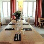 Restaurant Table d'hôtes mobilier Iñaki