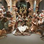 Nativity set of sculptures
