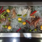 Fresh Seafood on BBQ nights