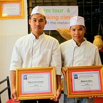 Certificate of excellence is hereby granted to Mr. ROUN RATANAK and Mr. MOEUN SAN ( Best Team wo