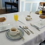 The 1st course of our wonderful & personalized breakfast.