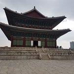 Palácio Gyeongbokgung lindo e imponente!