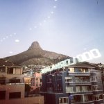 Lion's Head from Sea Point
