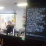 Service bar at Mostyn Gallery cafe